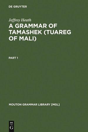 A Grammar of Tamashek  Tuareg of Mali  PDF
