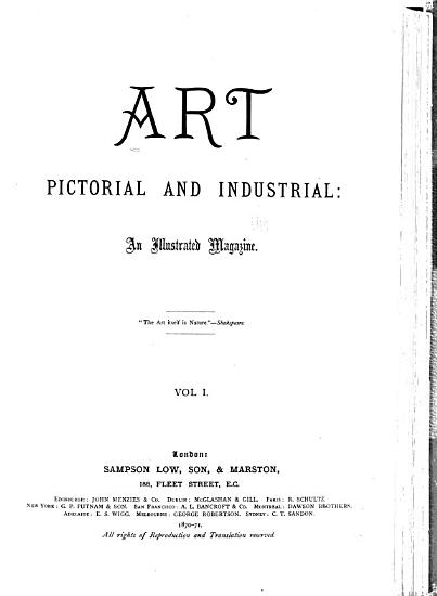 Art  Pictorial and Industrial PDF