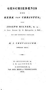 Geschiedenis der kerk van Christus: Volume 2