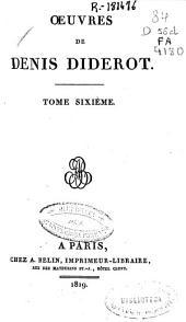 Oeuvres de Denis Diderot: (525 p.)