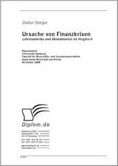 Ursache von Finanzkrisen: Lateinamerika und Skandinavien im Vergleich