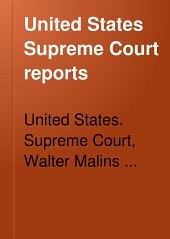 United States Supreme Court Reports: Volume 48; Volumes 191-194