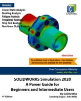 SOLIDWORKS Simulation 2020  A Power Guide for Beginners and Intermediate Users PDF