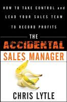 The Accidental Sales Manager PDF