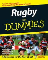 Rugby For Dummies PDF