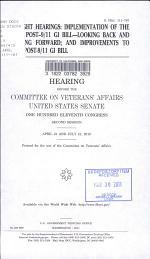Oversight Hearings