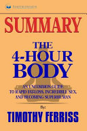 Summary Of The 4 Hour Body Book PDF