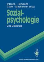 Sozialpsychologie PDF