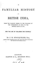 A familiar history of British India