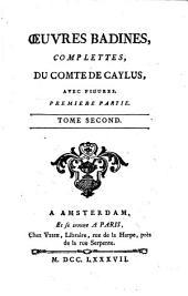 Œuvres Badines Complettes, Du Comte de Caylus: Avec Figures, Volumes 1-12