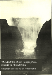 Bulletin of the Geographical Society of Philadelphia: Volume 12