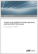 Analysis of the QUENCH-12 Bundle Experiment with the ATHLET-CD2.2A Code (KIT Scientific Reports ; 7622)