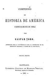 Compendio de historia de América i especialmente de Chile