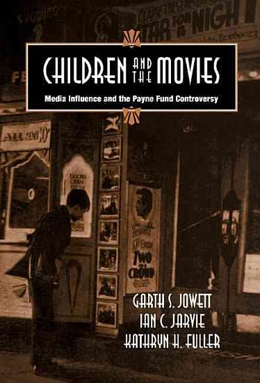 Children and the Movies PDF