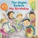 The Night Before My Birthday Book PDF