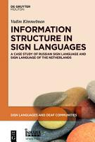 Information Structure in Sign Languages PDF
