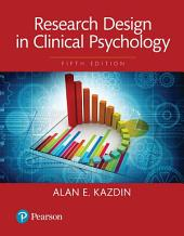 Research Design in Clinical Psychology: Edition 5