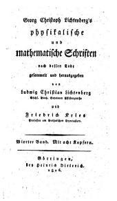 Physikalische und mathematische Schriften: 4