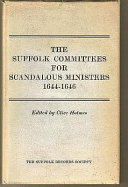 The Suffolk Committees for Scandalous Ministers  1644 1646 PDF