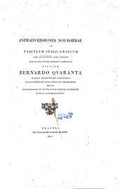 Animadversiones novissimae in vasculum Italo-graecum anno 1791 Locris effossum quod in regio Musaeo Borbonico adservatur