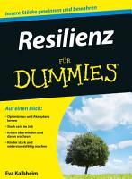 Resilienz f  r Dummies PDF