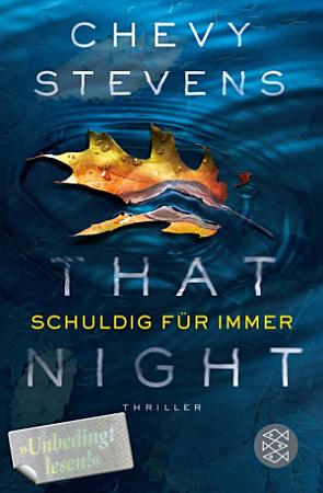 That Night   Schuldig f  r immer PDF