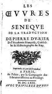 Les oeuvres: Des Bien-faits, Volume1