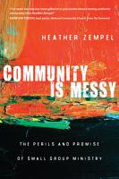 Community Is Messy PDF