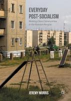 Everyday Post Socialism PDF
