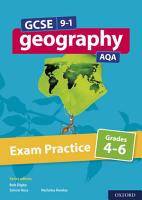 GCSE 9 1 Geography AQA Exam Practice  Grades 4 6 PDF