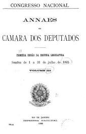 Anais da Câmara dos Deputados: Volume 3
