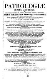 Patrologiae cursus completus ...: Series graeca, Volume 78