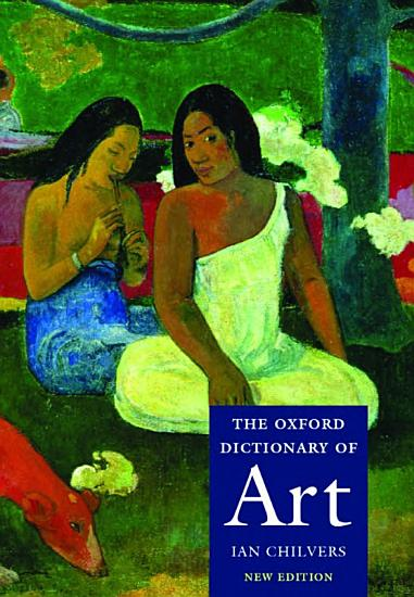 The Oxford Dictionary of Art PDF