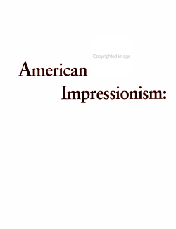 American Impressionism PDF
