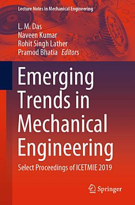 Emerging Trends in Mechanical Engineering PDF