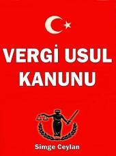 Vergi UsulKanunu