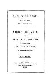 Paradise lost: in twelve parts