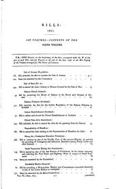 House of Commons Papers: Volume 6