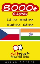 8000+ Čeština - Hindština Hindština - Čeština Slovník
