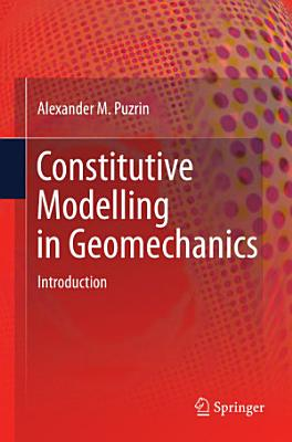 Constitutive Modelling in Geomechanics PDF