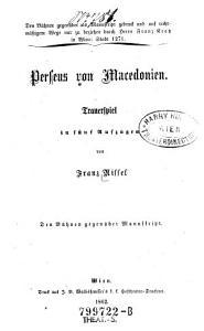 Perseus von Macedonien PDF