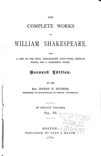 Download The Complete Works of William Shakespeare  Merry wives of Windsor  Measure for measure Book