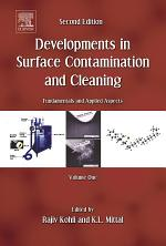 Developments in Surface Contamination and Cleaning, Vol. 1