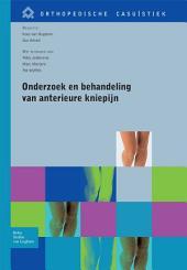 Onderzoek en behandeling van anterieure kniepijn