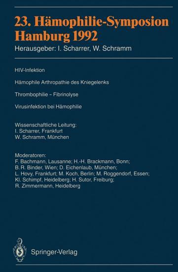 23  H  mophilie Symposion PDF