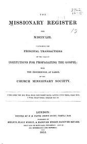 Missionary Register: Volume 41