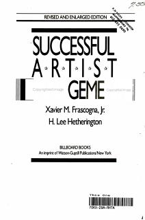 Successful Artist Management Book