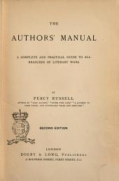 The Authors' Manual by Percy Russell