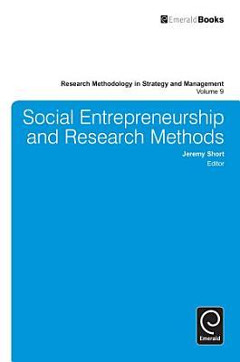 Social Entrepreneurship and Research Methods PDF