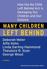 Many Children Left Behind PDF